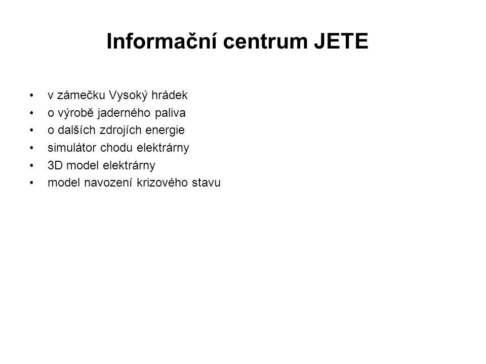 Informační centrum JETE