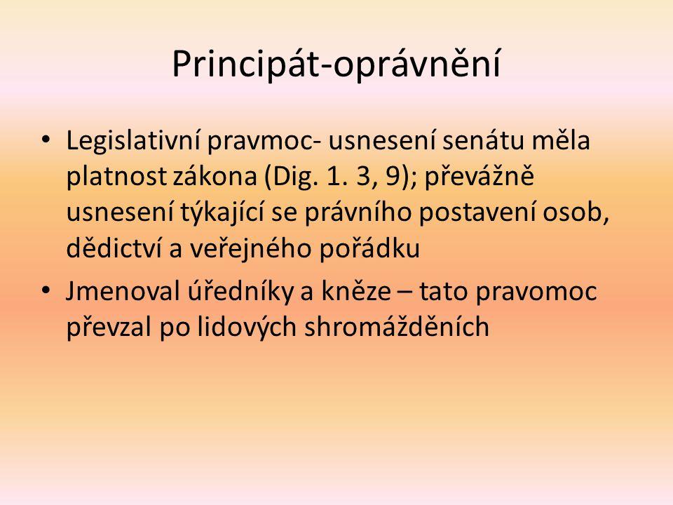Principát-oprávnění
