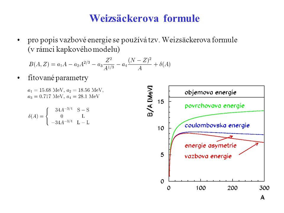 Weizsäckerova formule
