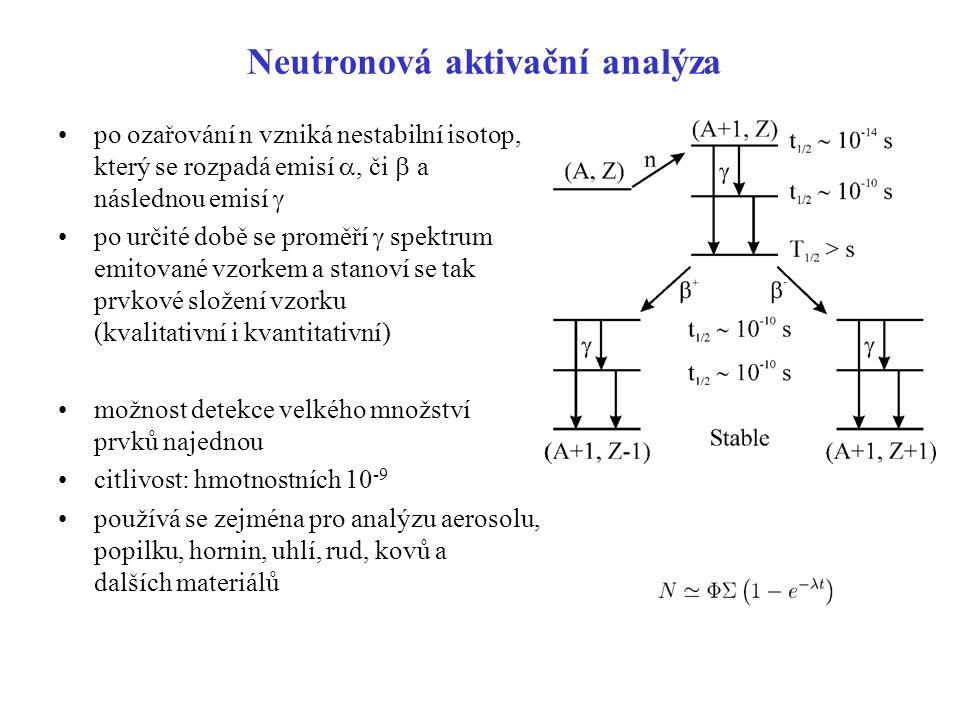 Neutronová aktivační analýza