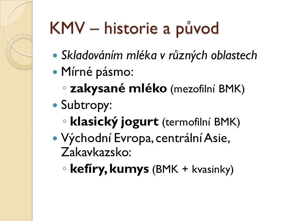 KMV – historie a původ Skladováním mléka v různých oblastech