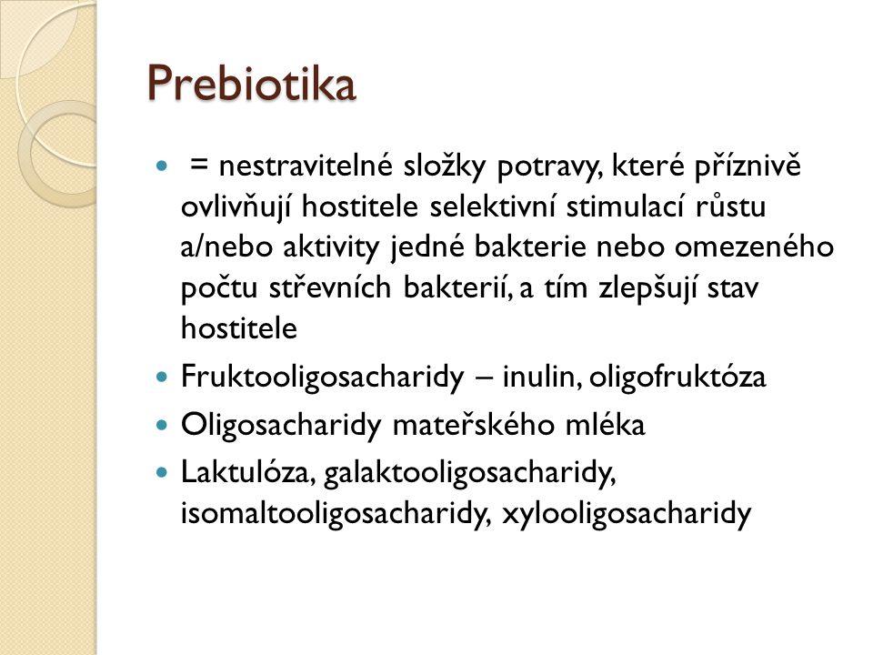 Prebiotika