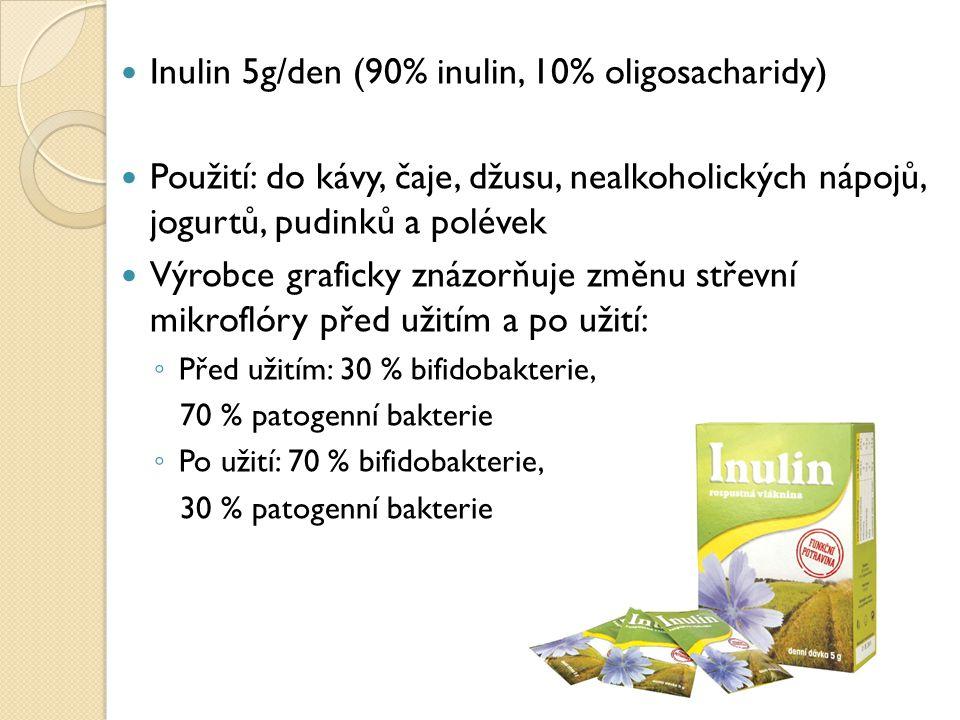 Inulin 5g/den (90% inulin, 10% oligosacharidy)