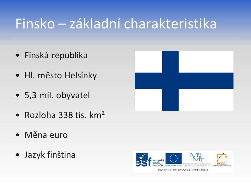 Finsko – základní charakteristika