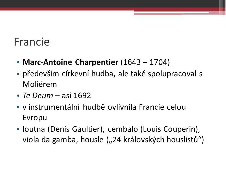 Francie Marc-Antoine Charpentier (1643 – 1704)