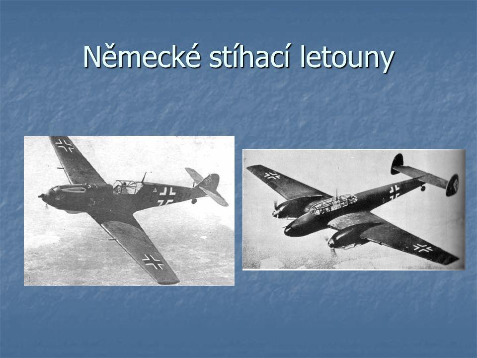 Německé stíhací letouny