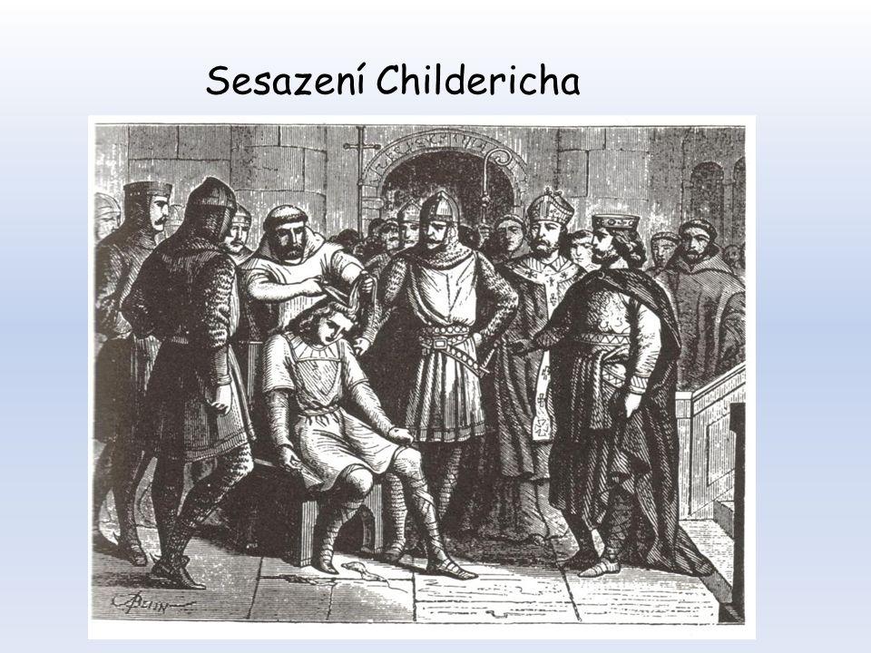 Sesazení Childericha