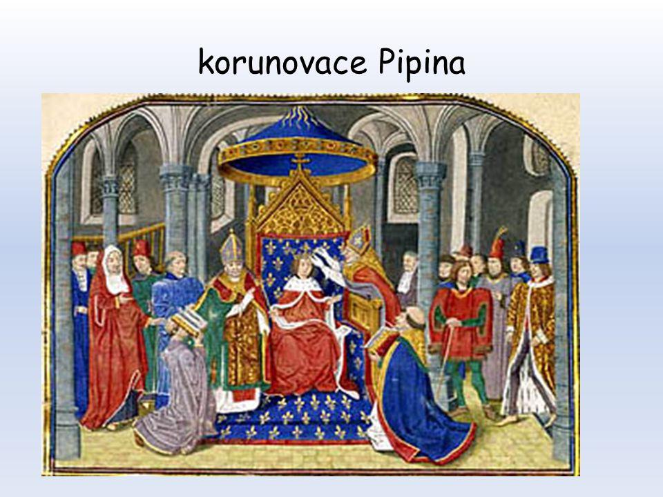korunovace Pipina
