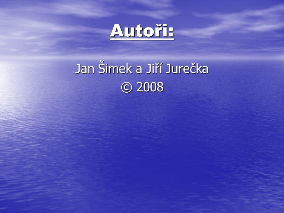 Jan Šimek a Jiří Jurečka © 2008