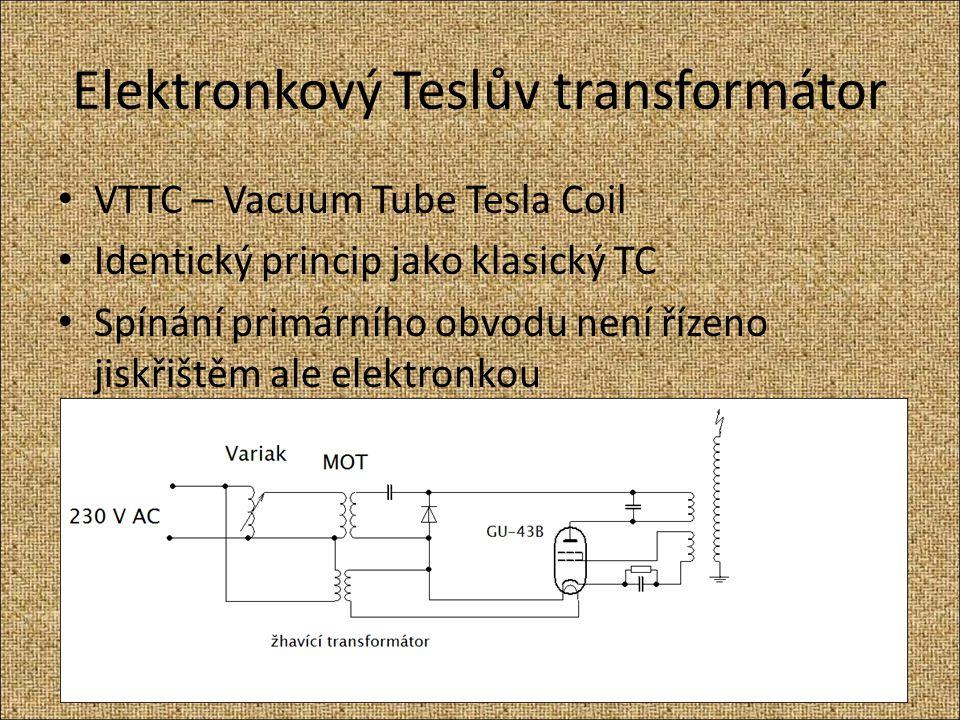 Elektronkový Teslův transformátor