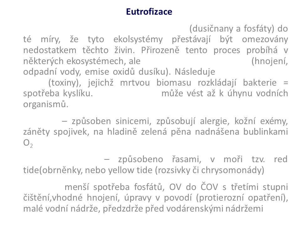 Eutrofizace