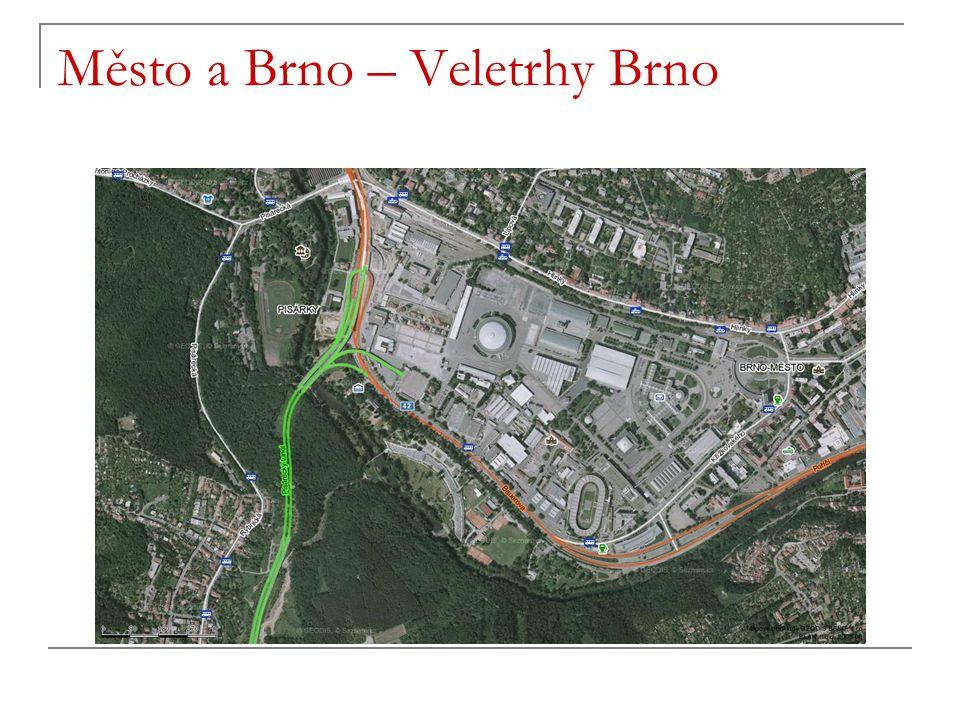 Město a Brno – Veletrhy Brno