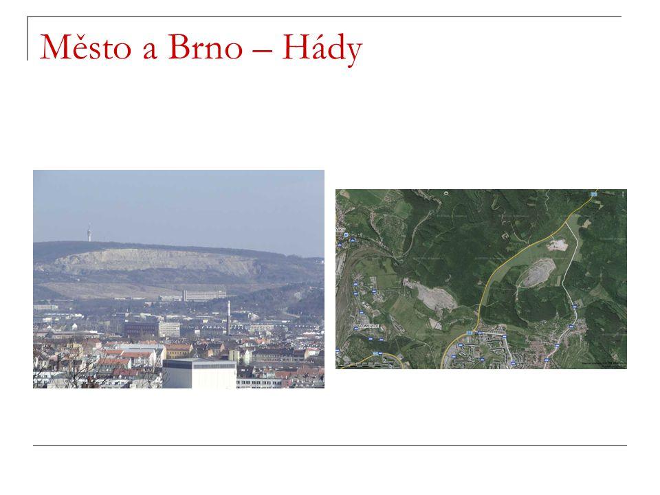 Město a Brno – Hády