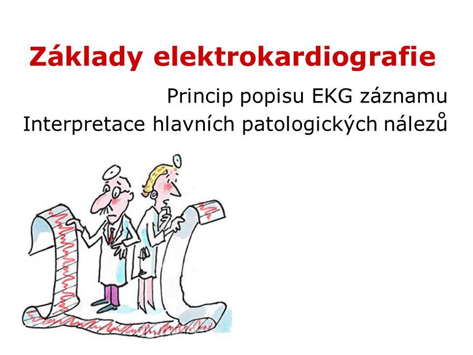 Základy elektrokardiografie