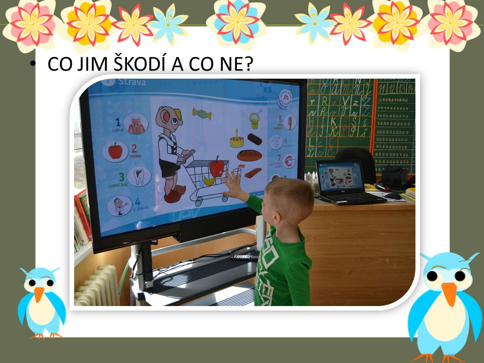 CO JIM ŠKODÍ A CO NE