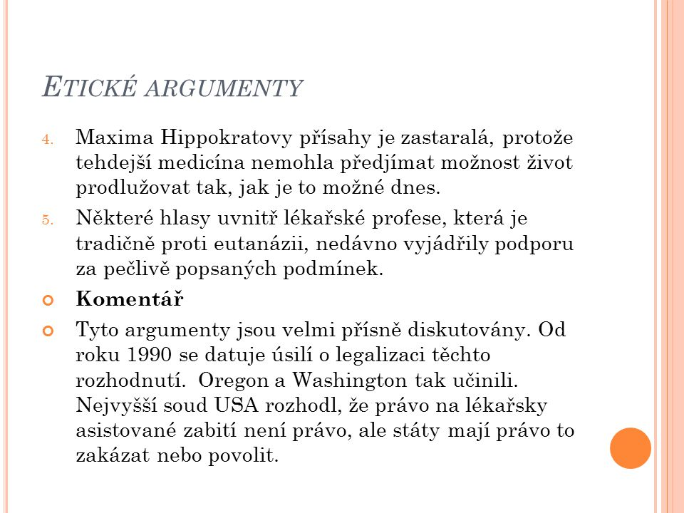 Etické argumenty