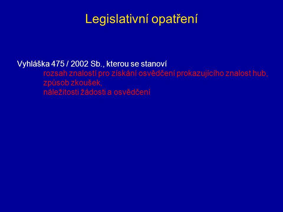 Legislativní opatření