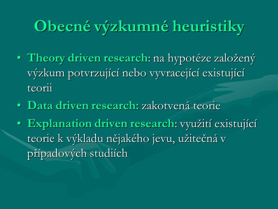 Obecné výzkumné heuristiky