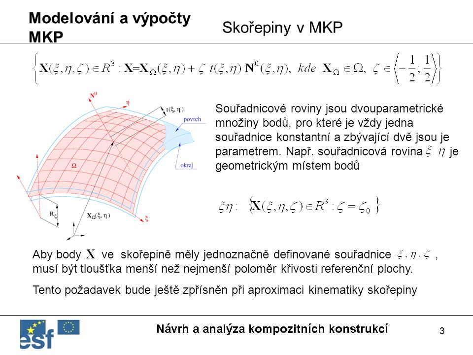 Modelování a výpočty MKP