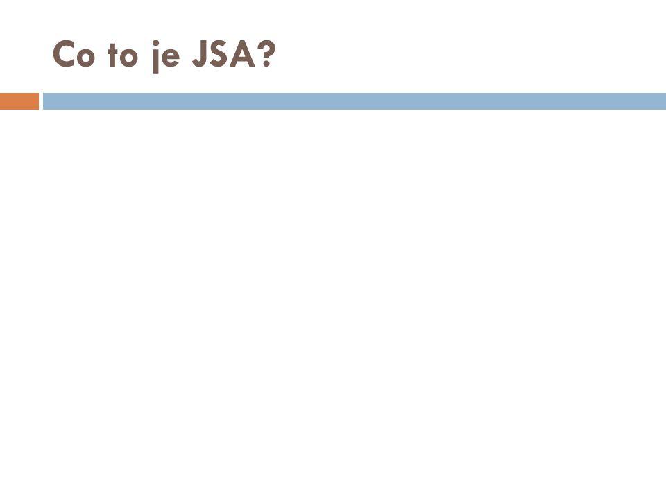 Co to je JSA