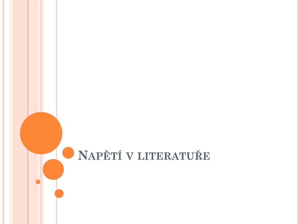 Napětí v literatuře