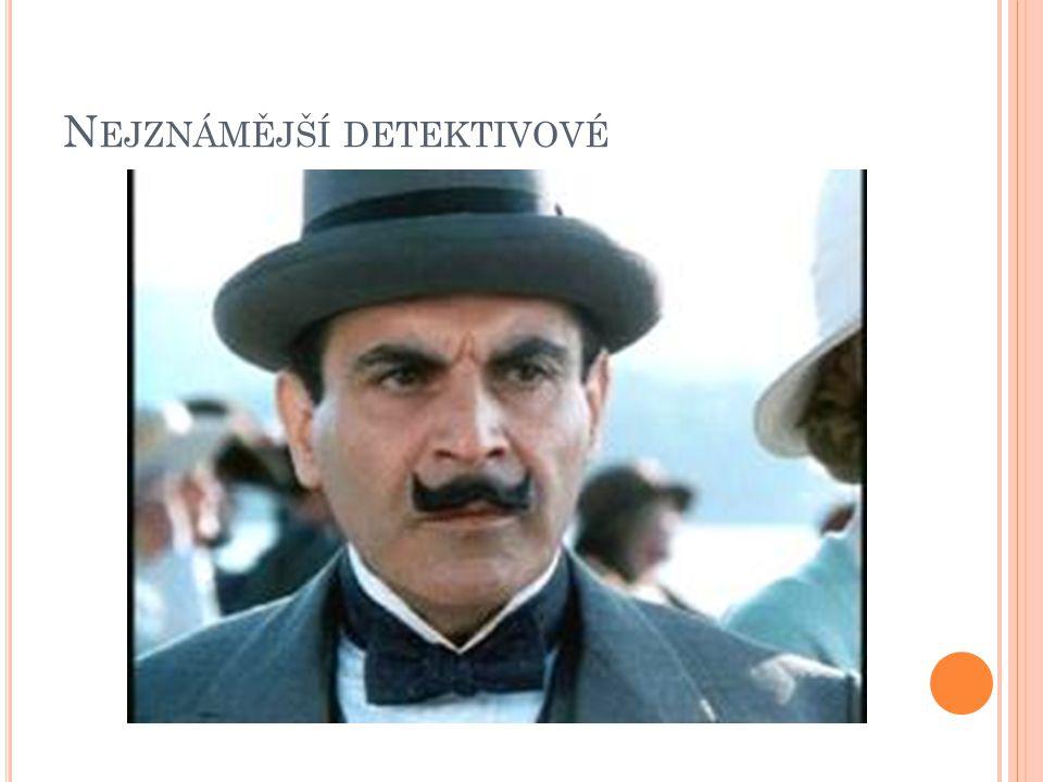 Nejznámější detektivové