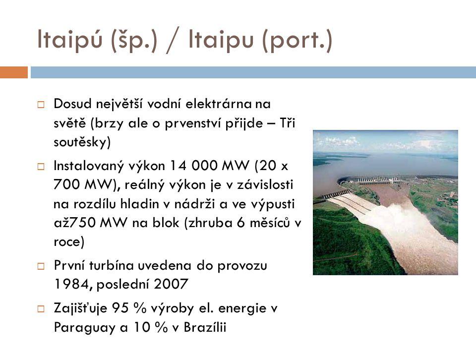Itaipú (šp.) / Itaipu (port.)