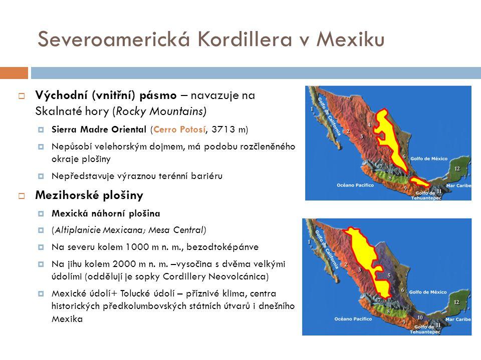 Severoamerická Kordillera v Mexiku