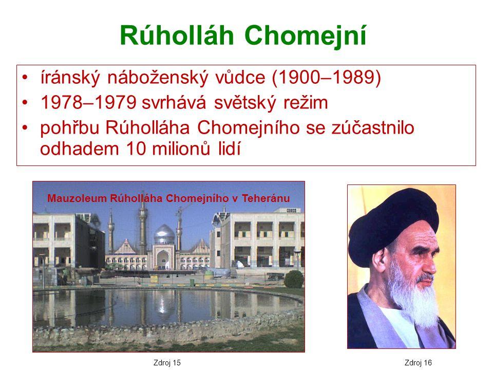 Mauzoleum Rúholláha Chomejního v Teheránu