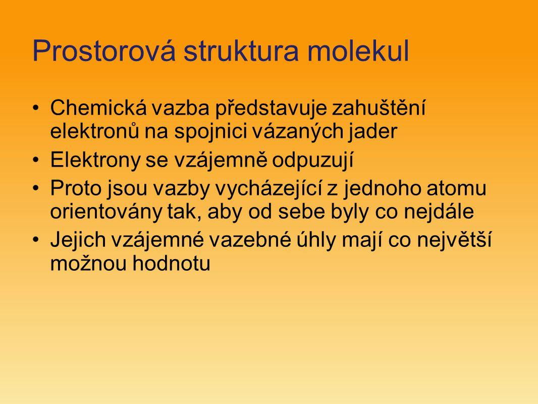 Prostorová struktura molekul
