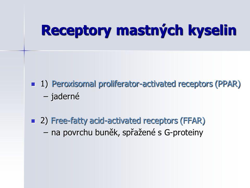 Receptory mastných kyselin