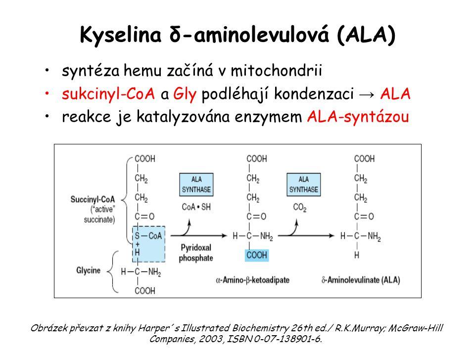 Kyselina δ-aminolevulová (ALA)