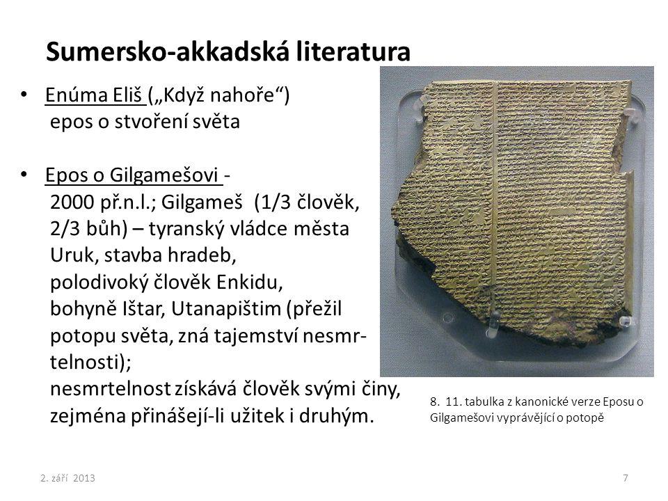 Sumersko-akkadská literatura