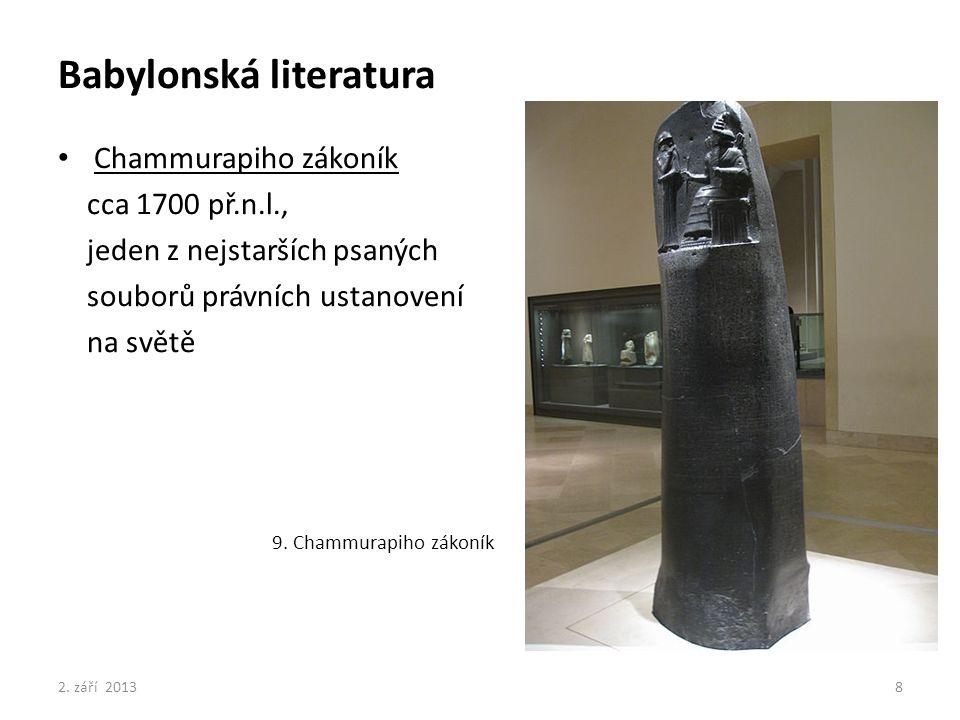 Babylonská literatura