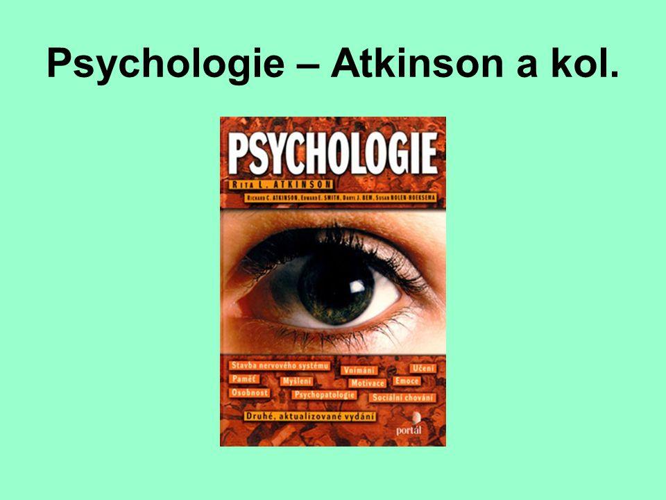 Psychologie – Atkinson a kol.
