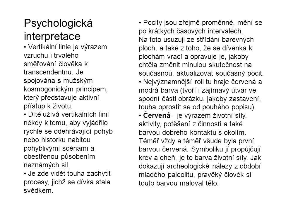 Psychologická interpretace
