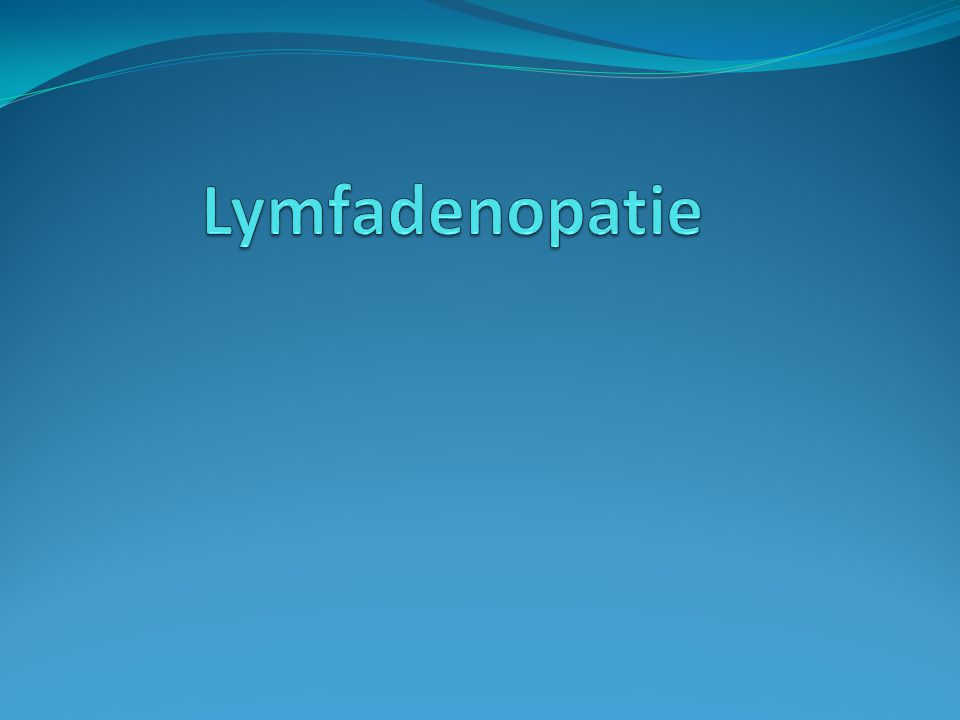 Lymfadenopatie