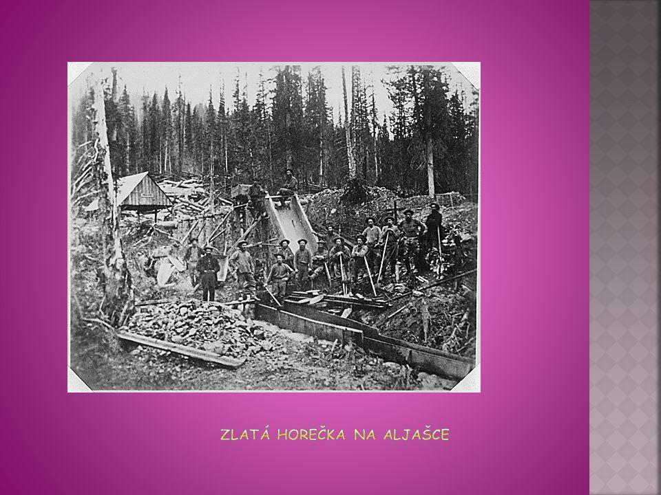 Zlatá horečka na Aljašce