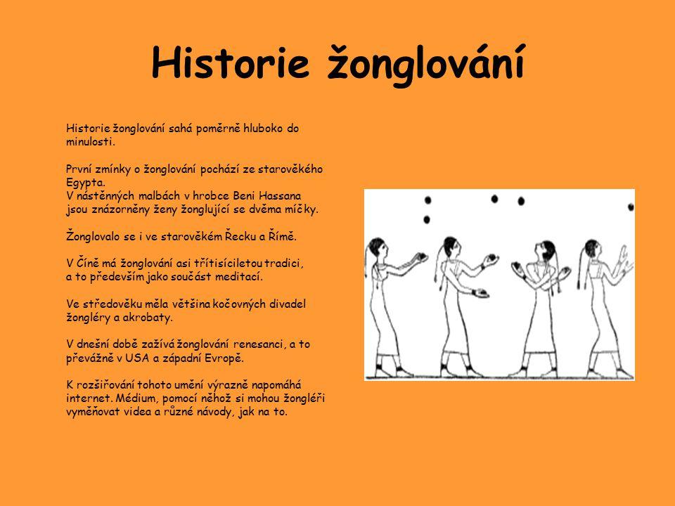 Historie žonglování