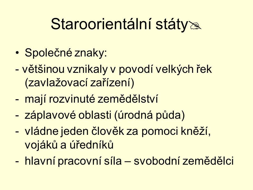 Staroorientální státy