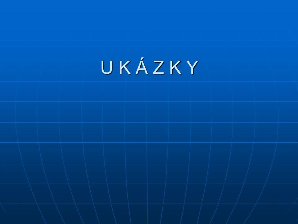 U K Á Z K Y