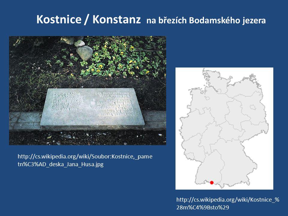 Kostnice / Konstanz na březích Bodamského jezera