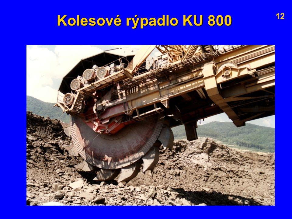 Kolesové rýpadlo KU 800 12