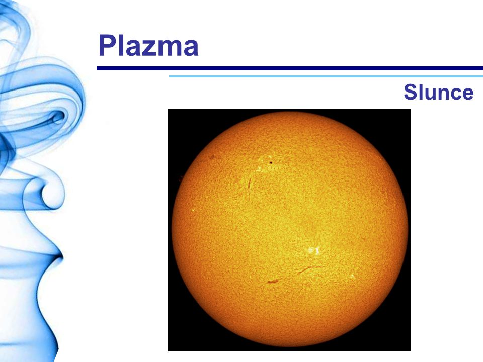 Plazma Slunce