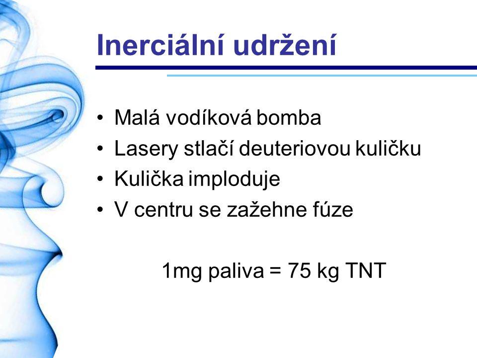Inerciální udržení Malá vodíková bomba