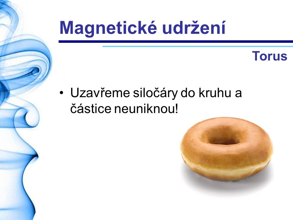 Magnetické udržení Torus