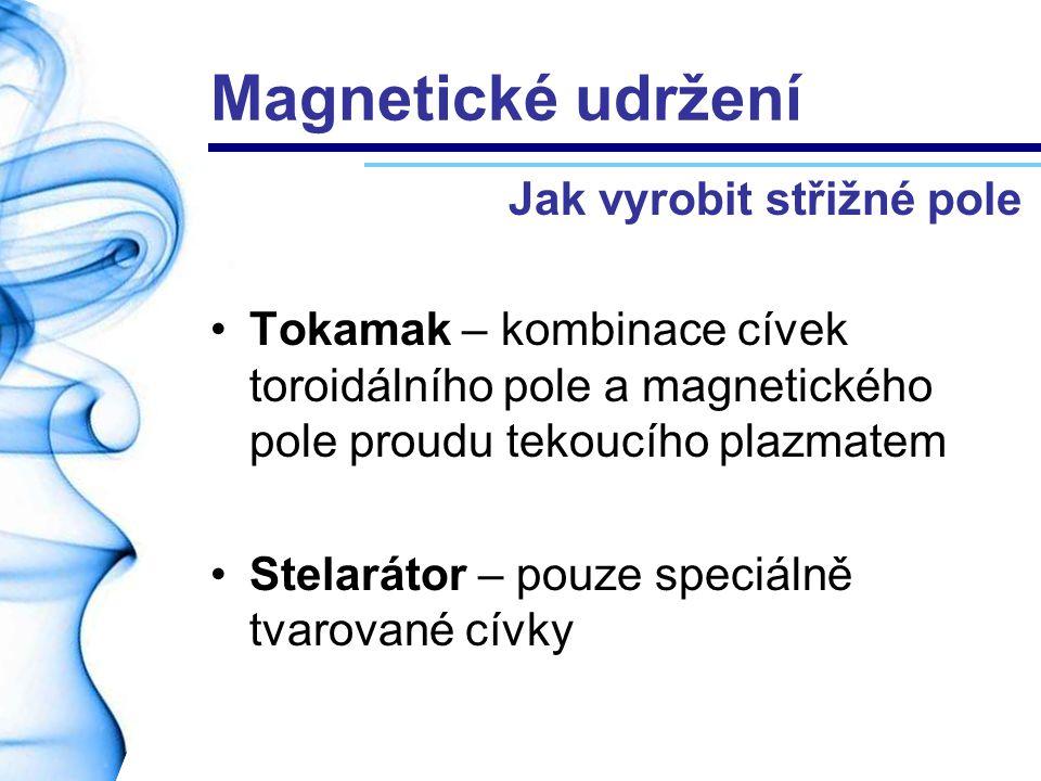 Magnetické udržení Jak vyrobit střižné pole