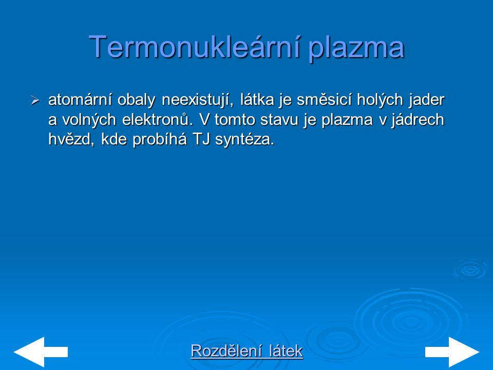 Termonukleární plazma