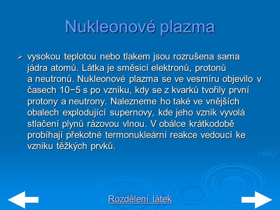 Nukleonové plazma