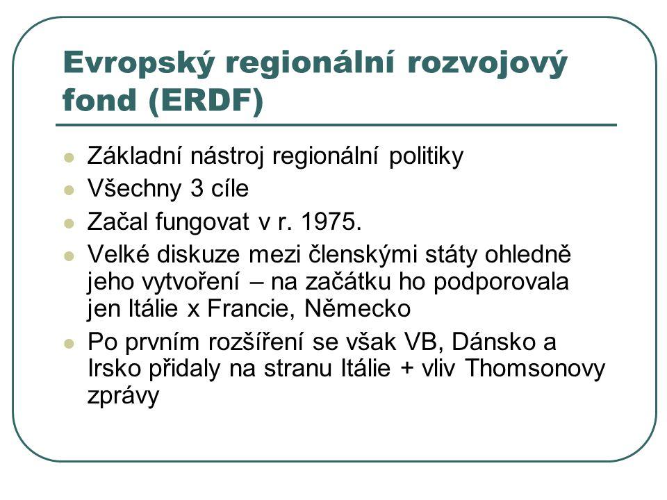 Evropský regionální rozvojový fond (ERDF)